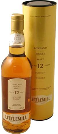 Littlemill Scotch Single Malt 12 Year